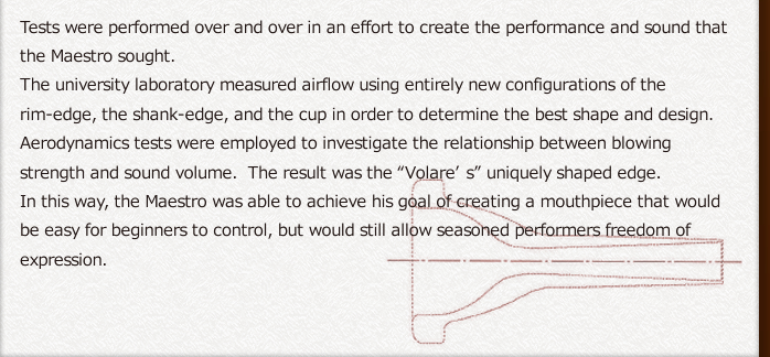 Tests were performed over and over in an effort to create the performance and sound that the Maestro sought. 